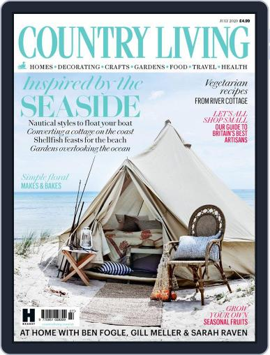 Country Living UK July 1st, 2020 Digital Back Issue Cover