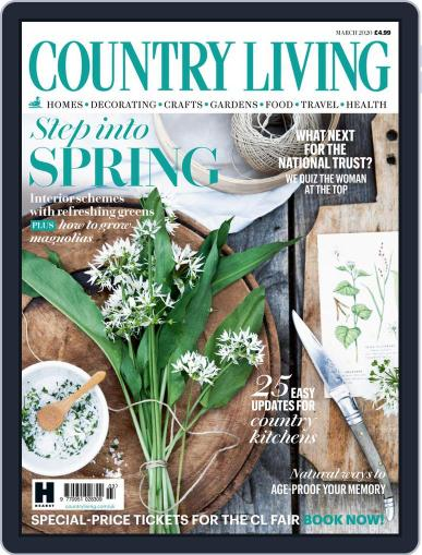 Country Living UK March 1st, 2020 Digital Back Issue Cover