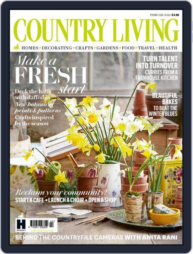 Country Living UK February 1st, 2020 Digital Back Issue Cover