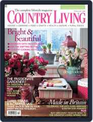 Country Living UK (Digital) Subscription February 5th, 2008 Issue