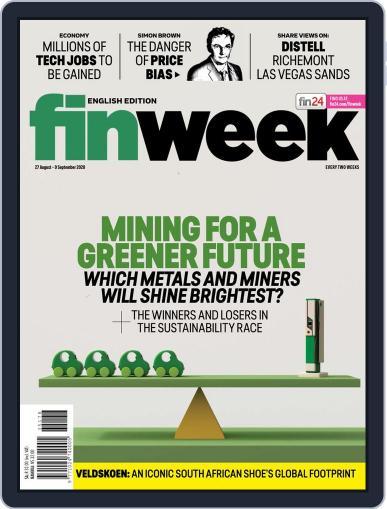 Finweek - English (Digital) August 27th, 2020 Issue Cover