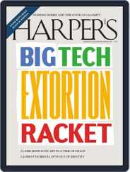 Harper's (Digital) Subscription September 1st, 2020 Issue