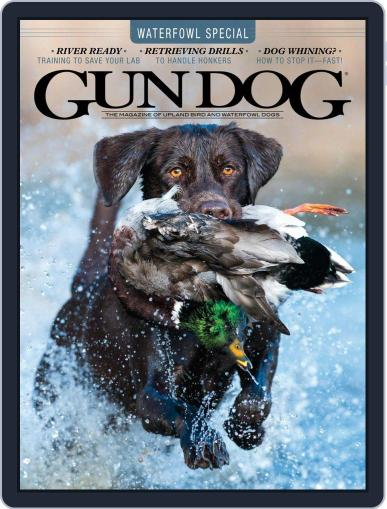 Gun Dog (Digital) October 1st, 2020 Issue Cover