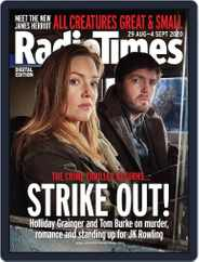 Radio Times (Digital) Subscription August 29th, 2020 Issue