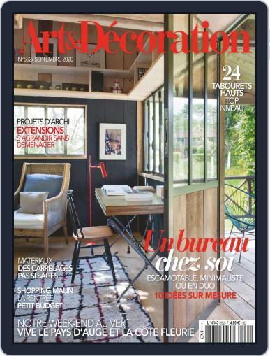 Art & Décoration September 1st, 2020 Digital Back Issue Cover