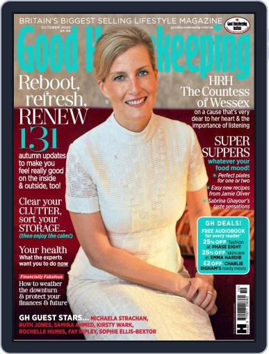 Good Housekeeping UK October 1st, 2020 Digital Back Issue Cover