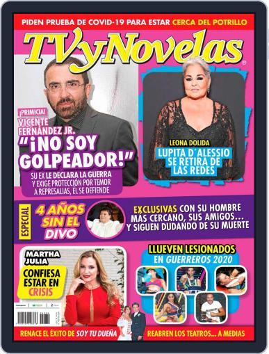 TV y Novelas México (Digital) August 24th, 2020 Issue Cover