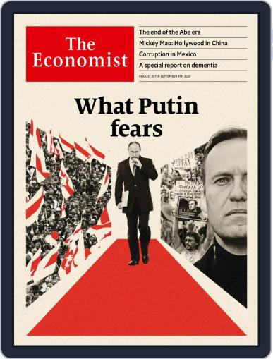 The Economist (Digital) August 29th, 2020 Issue Cover