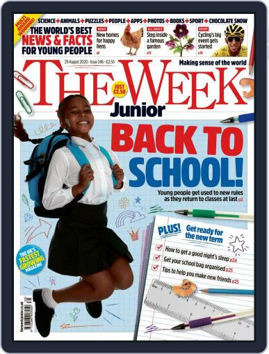 The Week Junior (Digital) August 29th, 2020 Issue Cover
