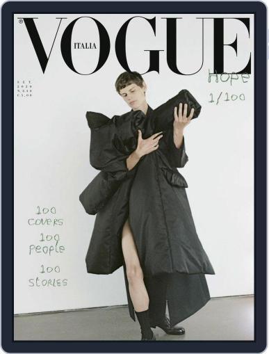 Vogue Italia (Digital) September 1st, 2020 Issue Cover