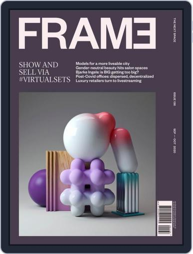 Frame (Digital) September 1st, 2020 Issue Cover