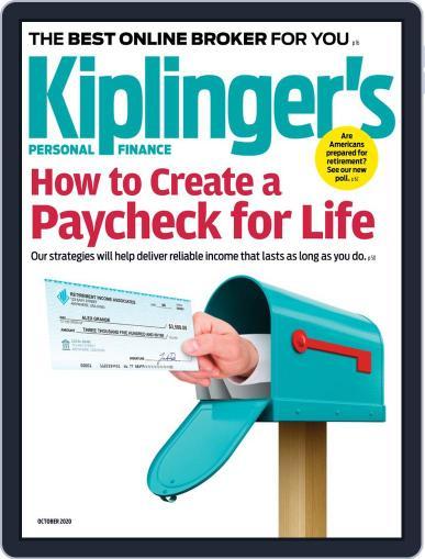 Kiplinger's Personal Finance (Digital) October 1st, 2020 Issue Cover