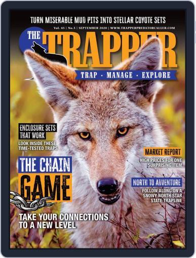 Trapper & Predator Caller September 1st, 2020 Digital Back Issue Cover