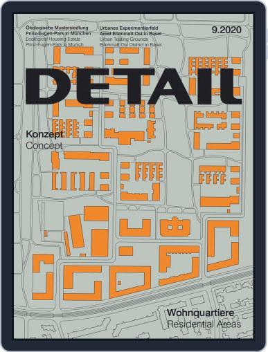 Detail September 1st, 2020 Digital Back Issue Cover