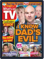 What's on TV (Digital) Subscription September 5th, 2020 Issue