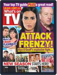 What's on TV (Digital) Subscription August 29th, 2020 Issue