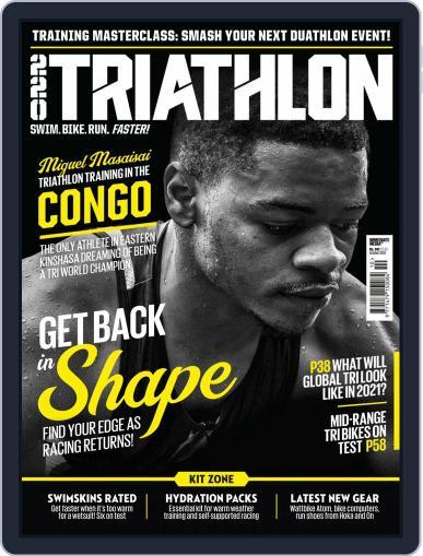 220 Triathlon (Digital) October 1st, 2020 Issue Cover
