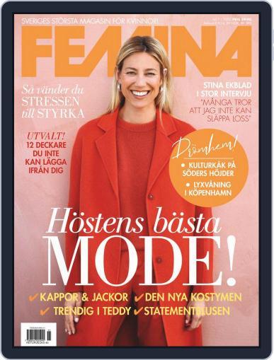 Femina Sweden (Digital) November 1st, 2020 Issue Cover