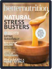 Better Nutrition (Digital) Subscription September 1st, 2020 Issue