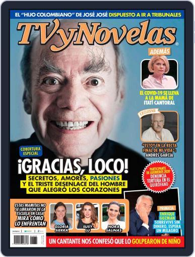 TV y Novelas México (Digital) August 31st, 2020 Issue Cover