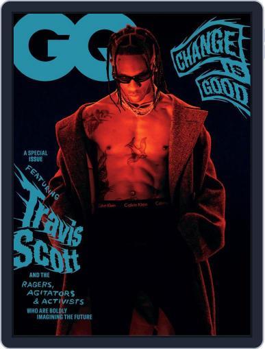 GQ (Digital) September 1st, 2020 Issue Cover