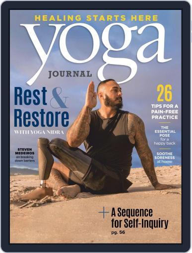 Yoga Journal (Digital) September 1st, 2020 Issue Cover