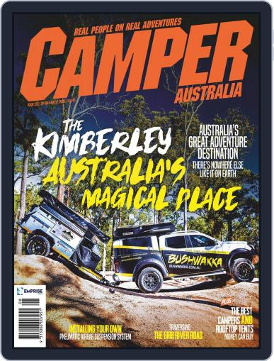 Camper Trailer Australia (Digital) August 1st, 2020 Issue Cover
