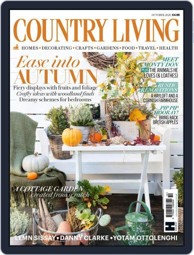 Country Living UK October 1st, 2020 Digital Back Issue Cover