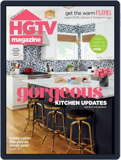 Hgtv (Digital) October 1st, 2020 Issue Cover