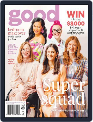 Good September 1st, 2020 Digital Back Issue Cover