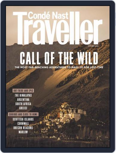 Conde Nast Traveller UK (Digital) October 1st, 2020 Issue Cover