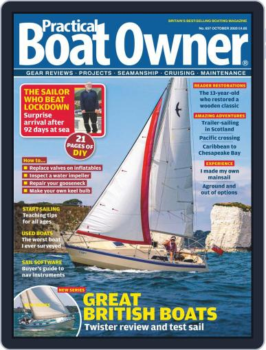 Practical Boat Owner (Digital) October 1st, 2020 Issue Cover