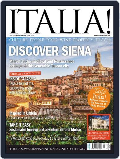 Italia October 1st, 2020 Digital Back Issue Cover