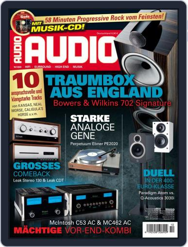 Audio Germany (Digital) October 1st, 2020 Issue Cover