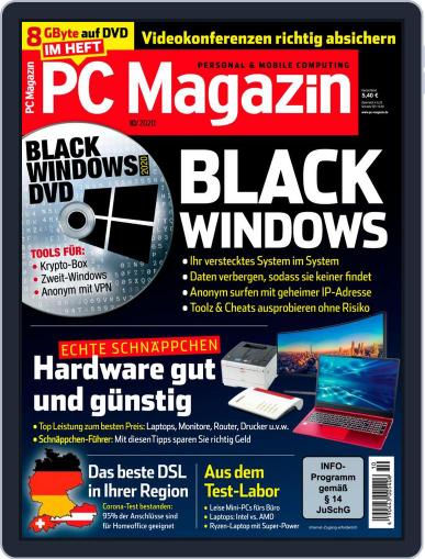 PC Magazin (Digital) October 1st, 2020 Issue Cover