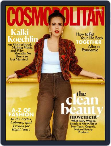 Cosmopolitan India (Digital) August 1st, 2020 Issue Cover