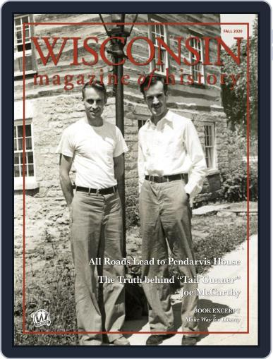 Wisconsin Magazine Of History (Digital) August 24th, 2020 Issue Cover
