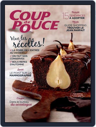 Coup De Pouce October 1st, 2020 Digital Back Issue Cover