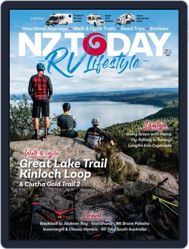 RV Travel Lifestyle September 1st, 2020 Digital Back Issue Cover
