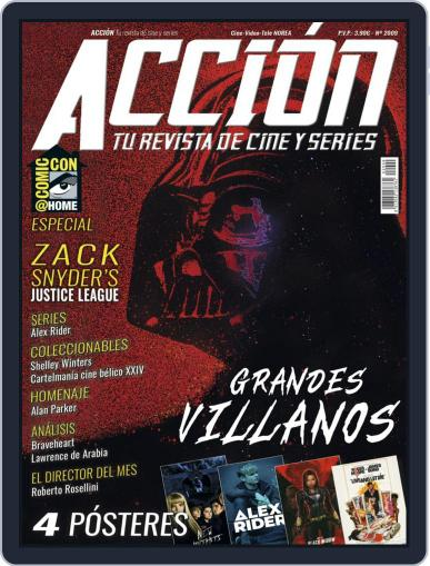 Accion Cine-video (Digital) September 1st, 2020 Issue Cover