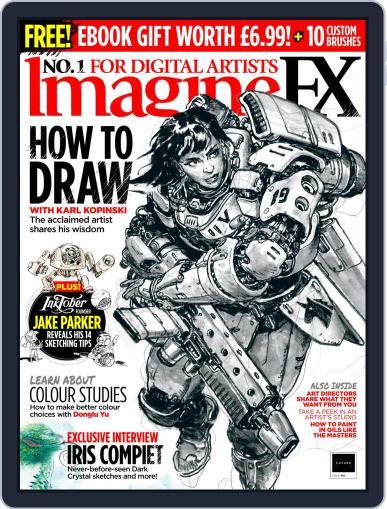 ImagineFX November 1st, 2020 Digital Back Issue Cover