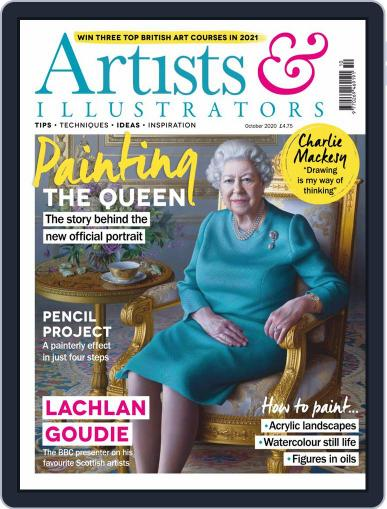 Artists & Illustrators (Digital) October 1st, 2020 Issue Cover