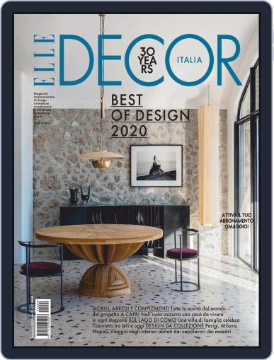 Elle Decor Italia September 1st, 2020 Digital Back Issue Cover