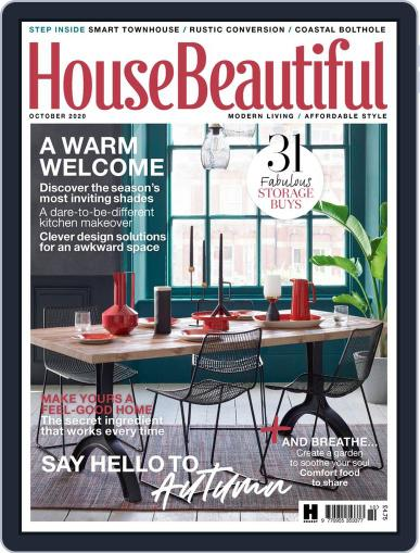 House Beautiful UK October 1st, 2020 Digital Back Issue Cover