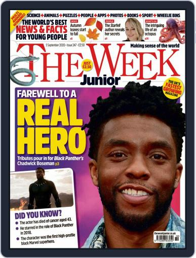 The Week Junior (Digital) September 5th, 2020 Issue Cover