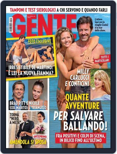 Gente September 12th, 2020 Digital Back Issue Cover