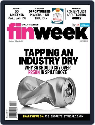 Finweek - English September 10th, 2020 Digital Back Issue Cover