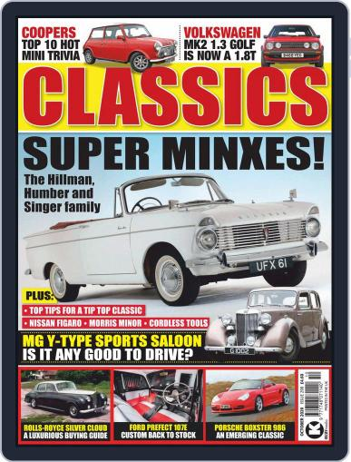 Classics Monthly October 1st, 2020 Digital Back Issue Cover
