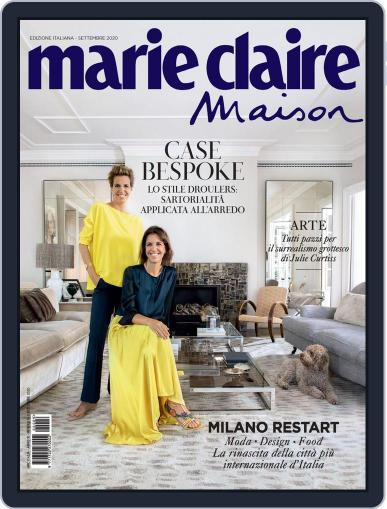 Marie Claire Maison Italia September 1st, 2020 Digital Back Issue Cover