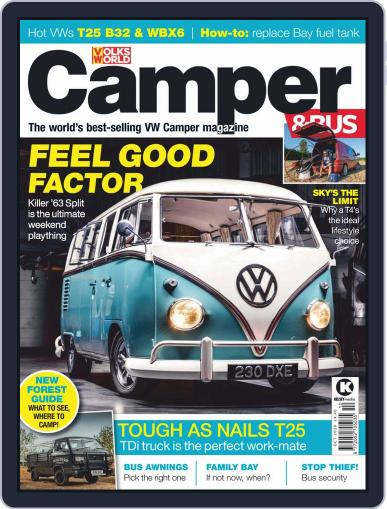 VW Camper & Bus (Digital) October 1st, 2020 Issue Cover